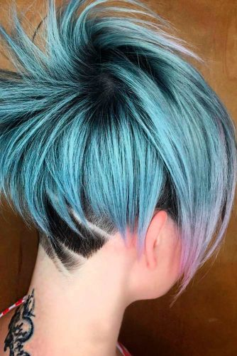 Stunning Short Hair with Undercut picture 3