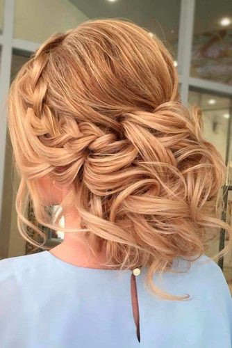 Braided Bridesmaids Hair picture3