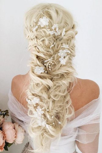 Braided Hairstyles with Hair Flowers picture2