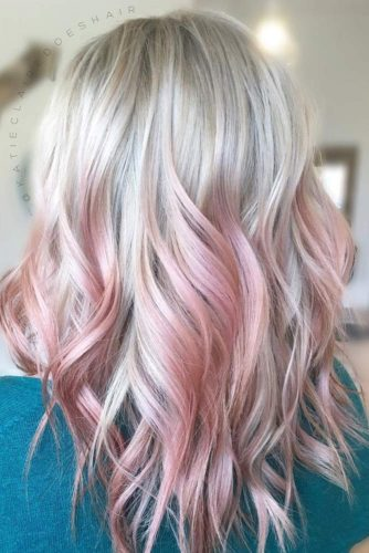 Stylish Pink Ombre Hair picture2