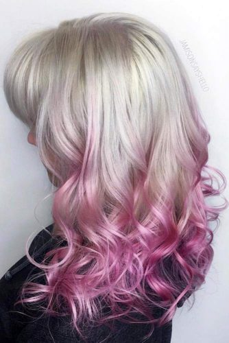 Stylish Pink Ombre Hair picture3