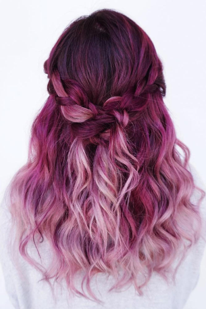 Wonderful Pink Ombre Hair picture3