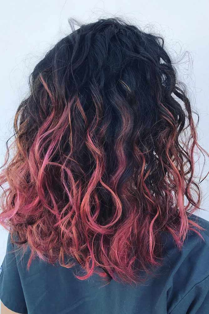 Pink Curly Hair picture1