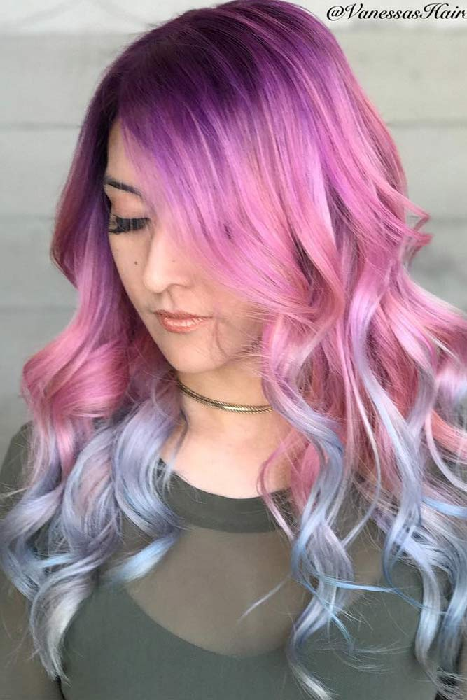 Multicolored Hairstyle picture1