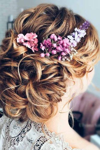 Cute Flowered Hair for Bridesmaids picture 1