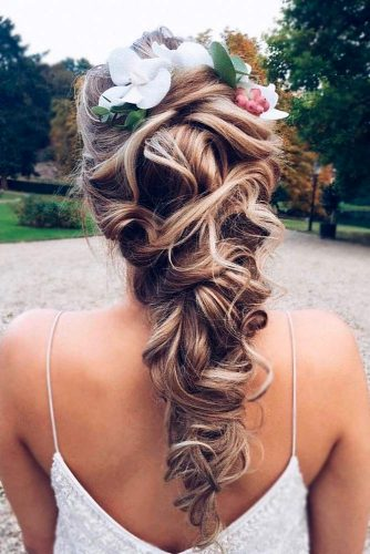 Cute Flowered Hair for Bridesmaids picture 2