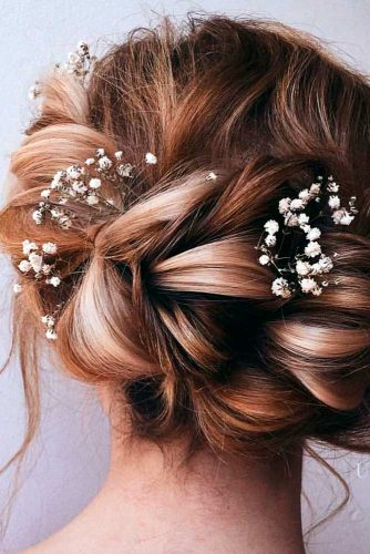 Lovely Flowered Updo Hairstyles picture 2