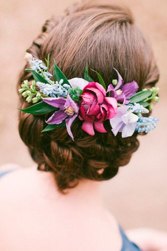 Lovely Flowered Updo Hairstyles picture 3