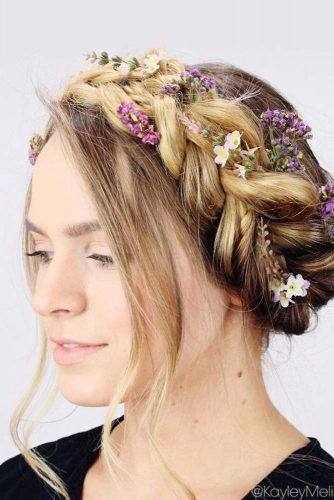 Romantic Rustic Bridesmaids Hairstyles picture 3