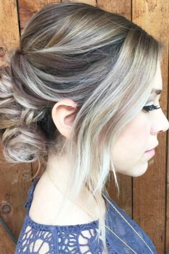 Messy Updos with Lovely Bangs picture 1