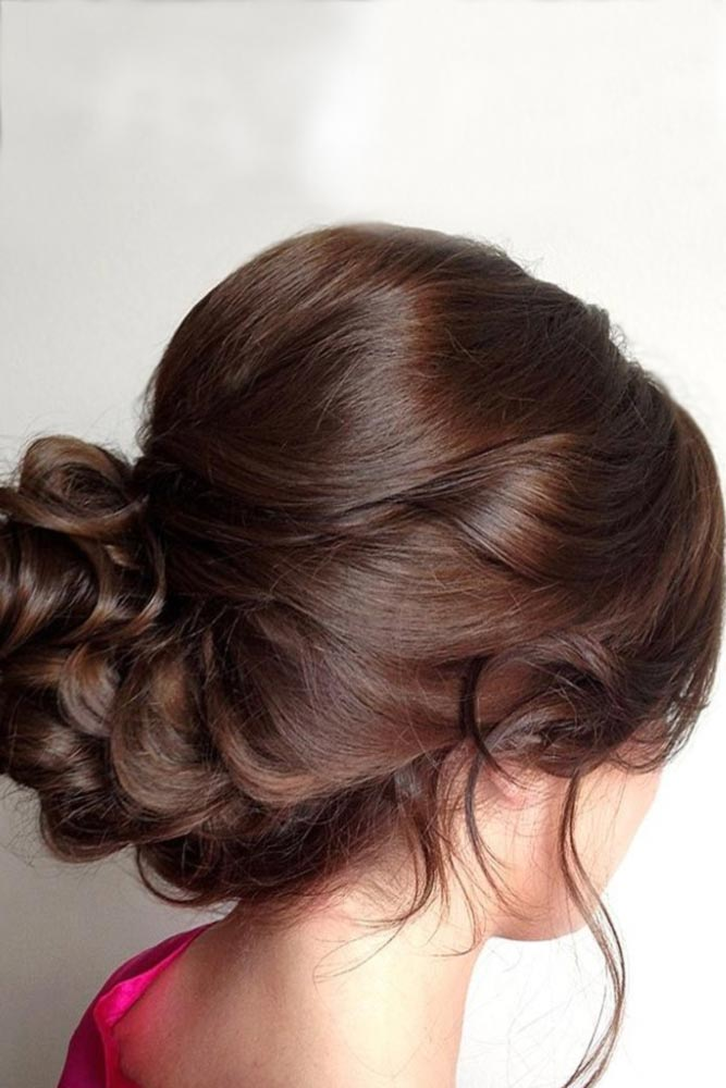 Messy Updos with Lovely Bangs picture 2