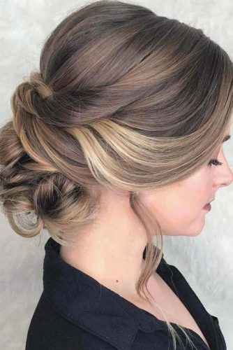 Messy Updos with Lovely Bangs picture 3
