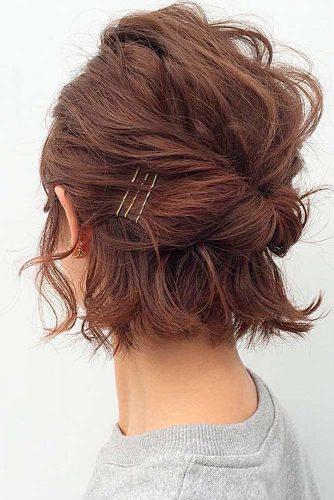 30 So Cute Easy Hairstyles For Short Hair Lovehairstyles Com