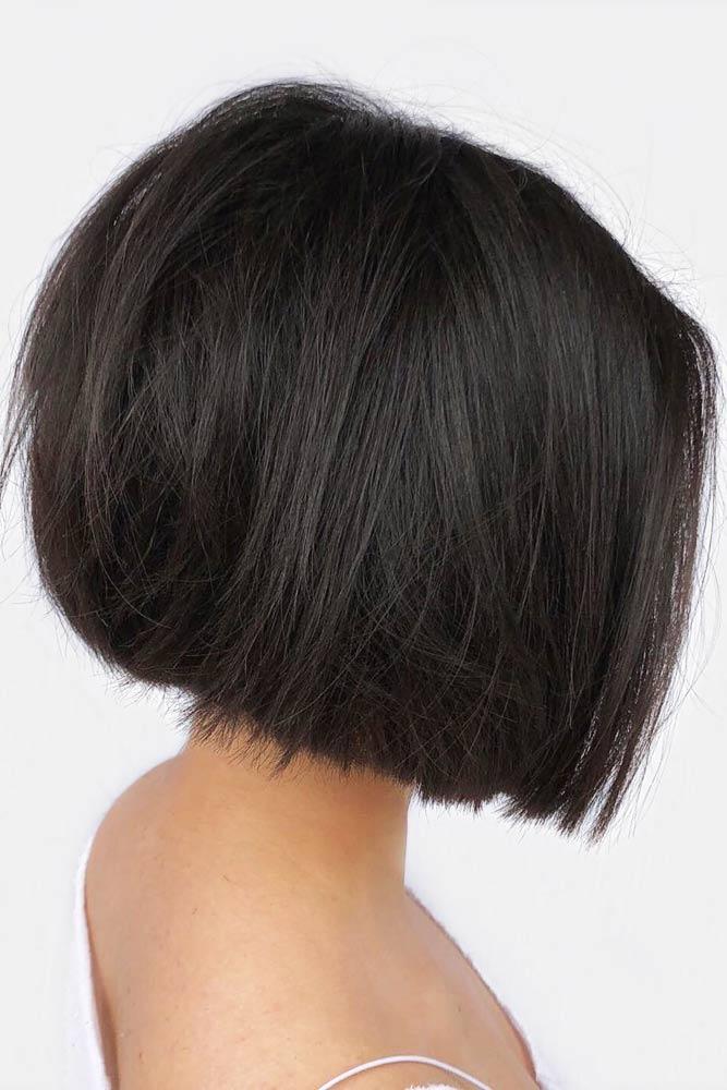 Brunette Color Ideas To Dye Your Short Hair #shorthairstyles #shorthair #hairstyles #bobhairstyles #brunettehair