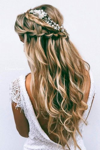 Waterfall Braids for Romantic Look picture 1
