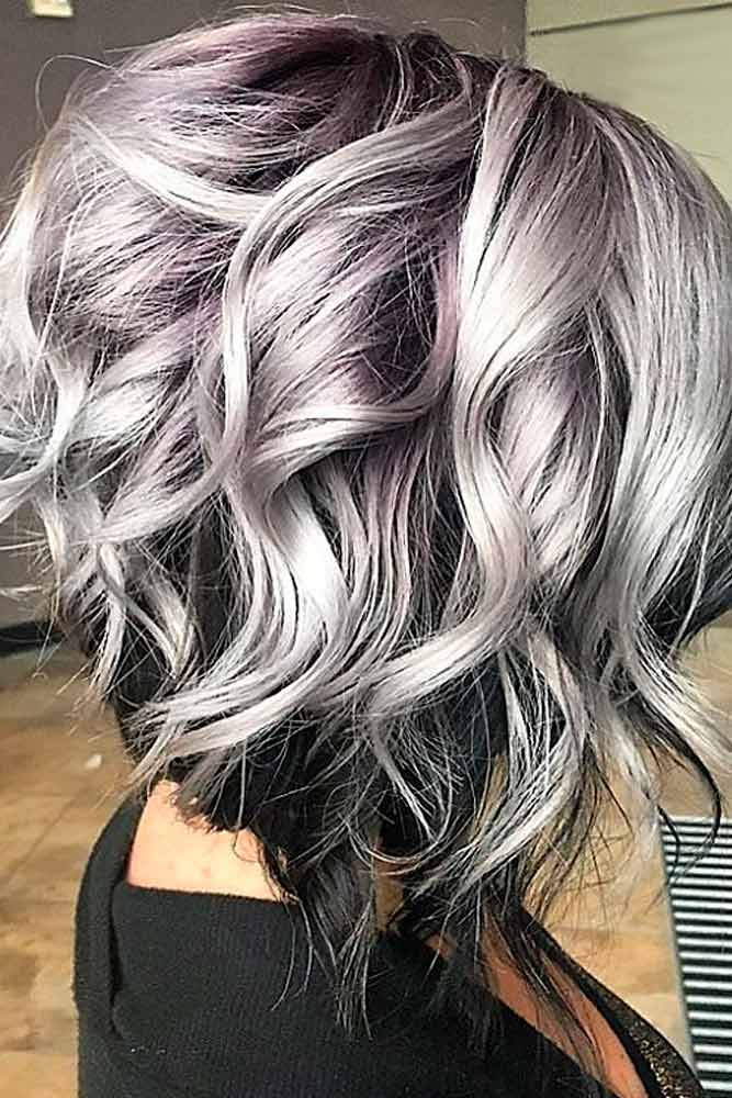 Dark Root Hair with Grey Color picture2