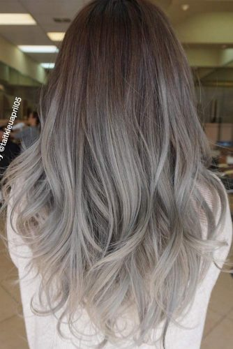 Fantastic Grey Ombre Hair picture2