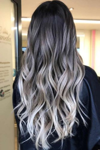 Amazing Grey Ombre Hair picture1