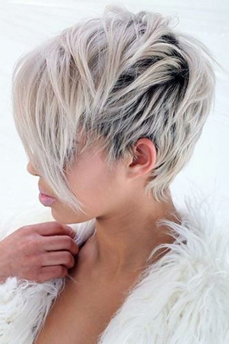 Pixie Hairstyles for Long Faces