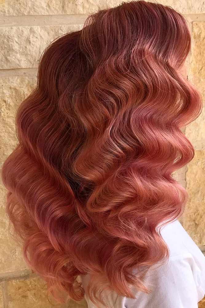 Glam Girl #hairstyles #faceshape #longface #longhair