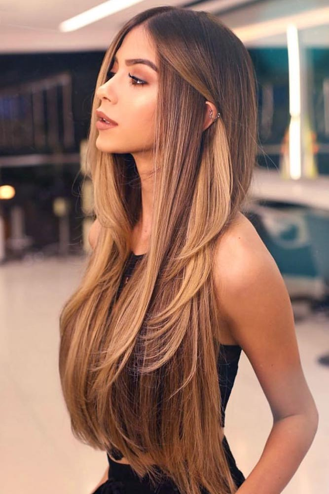 Sexy Silhouette #hairstyles #faceshape #longface #longhair