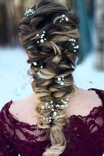 Mermaid Braid Hairstyles For Prom pictere 3