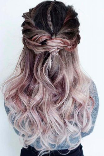 Mermaid Braid Hairstyles For Prom picture2