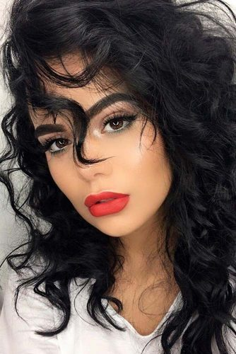 Curly Hairstyles for Square Faces