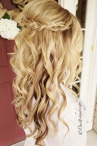 Braided Half Up Half Down Prom Hairstyles picture1