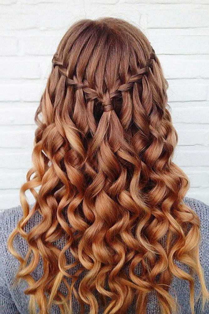 Braided Half Up Half Down Prom Hairstyles picture2
