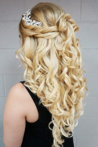 Attractive Half Up Half Down Prom Hairstyles picture3
