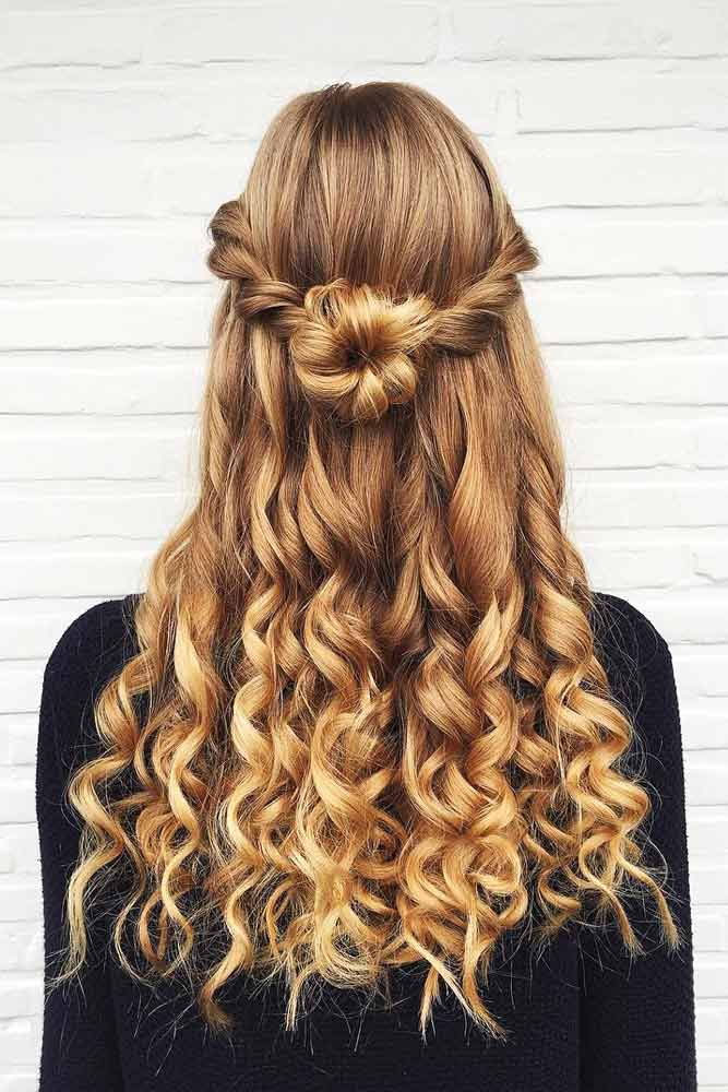 Pretty Half Up Half Down Prom Hairstyles picture2