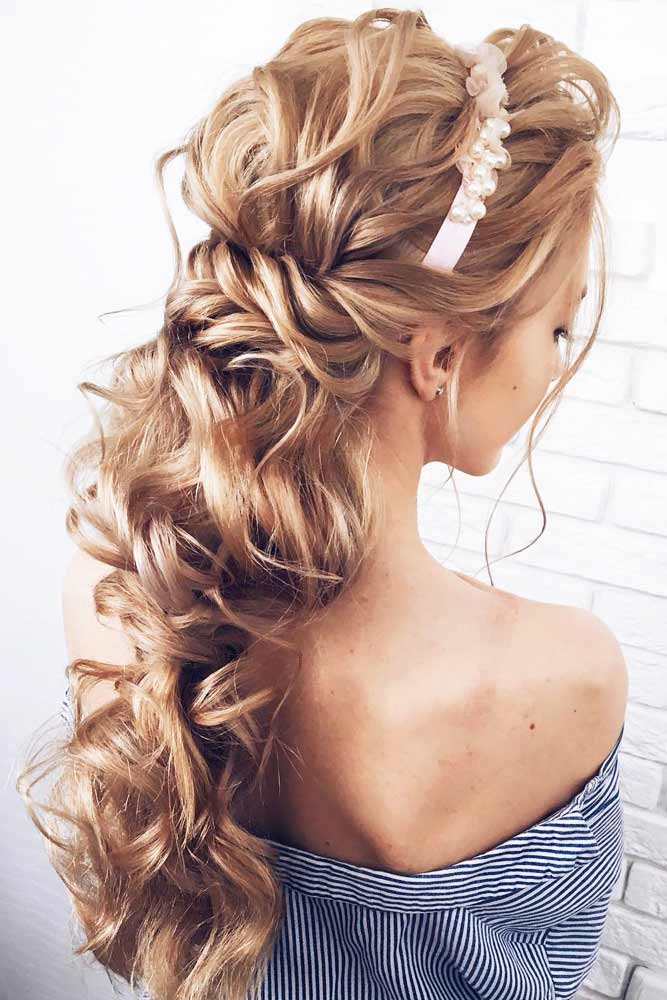 Pretty Half Up Half Down Prom Hairstyles picture1