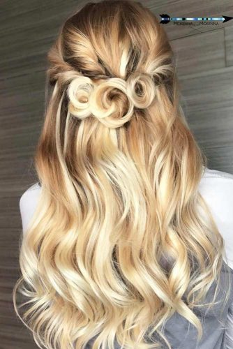 Cute Half Up Half Down Prom Hairstyles picture2