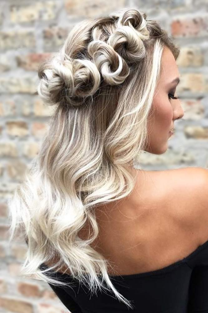 Cute Half Up Half Down Prom Hairstyles picture1