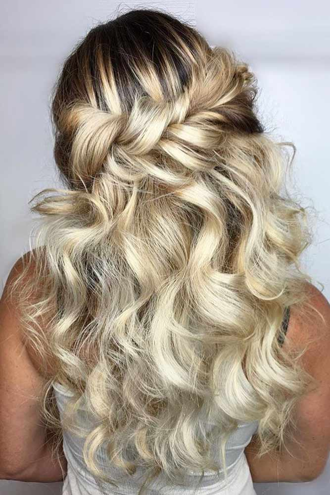 Cute Half Up Half Down Prom Hairstyles picture3