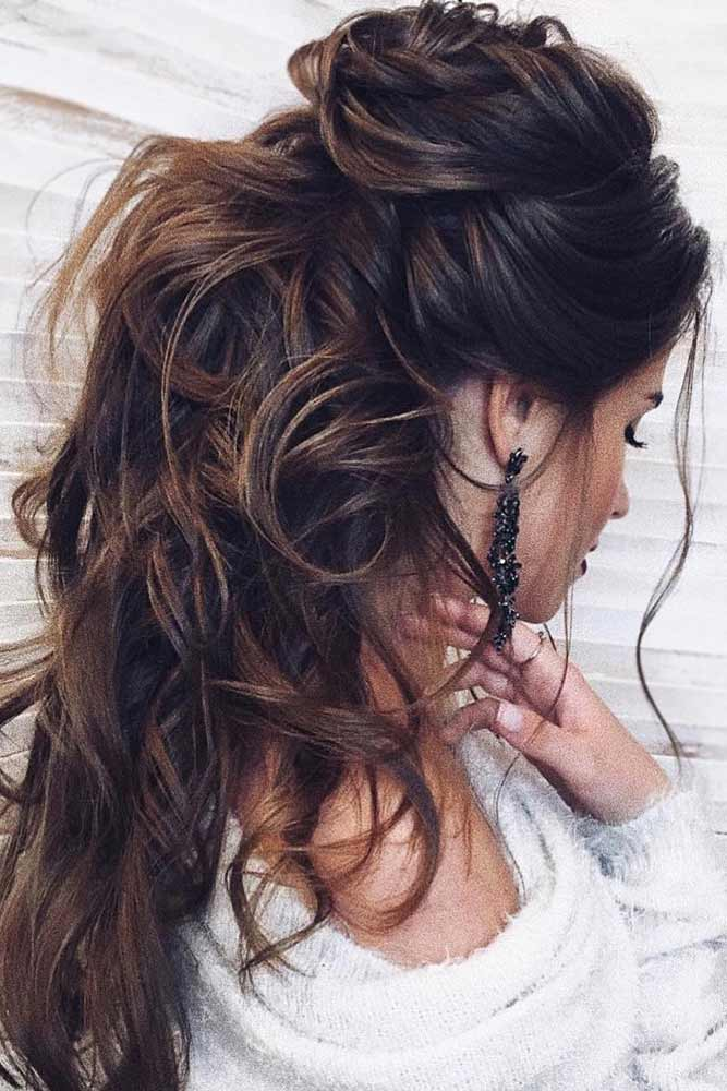 Try 41 Half Up Half Down Prom Hairstyles | LoveHairStyles.com