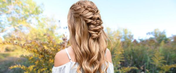 42 Half Up Half Down Prom Hairstyles You'll Fall In Love With
