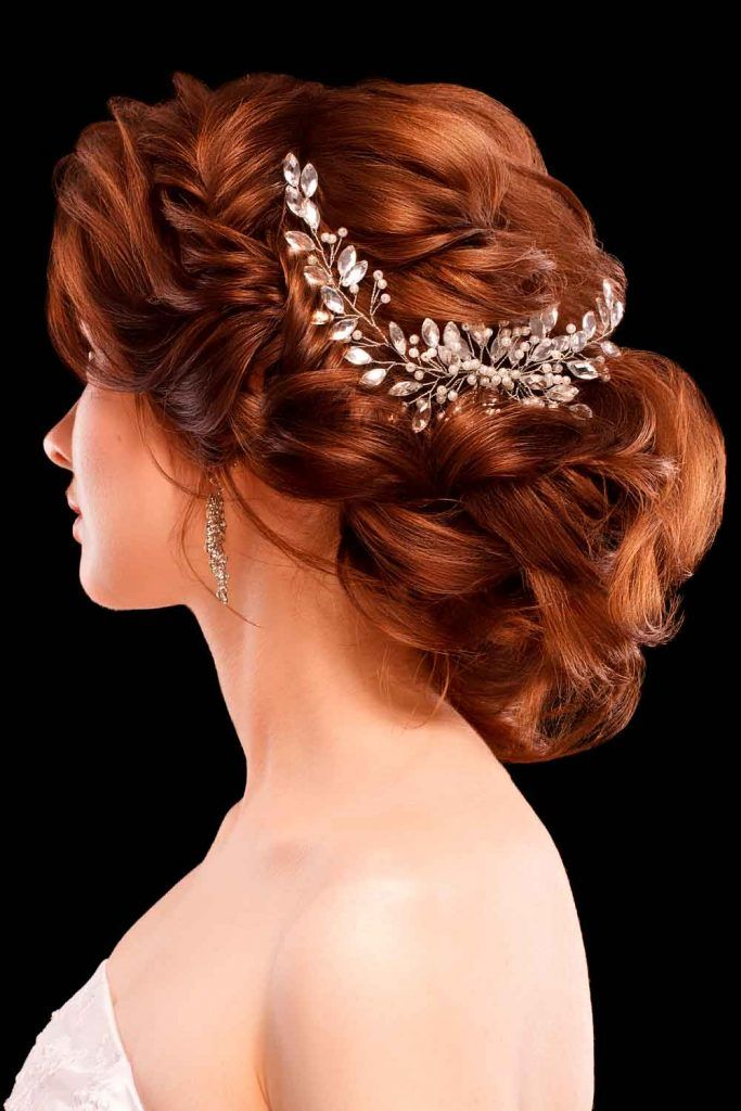 Headpiece Jewelry For Bun Updos