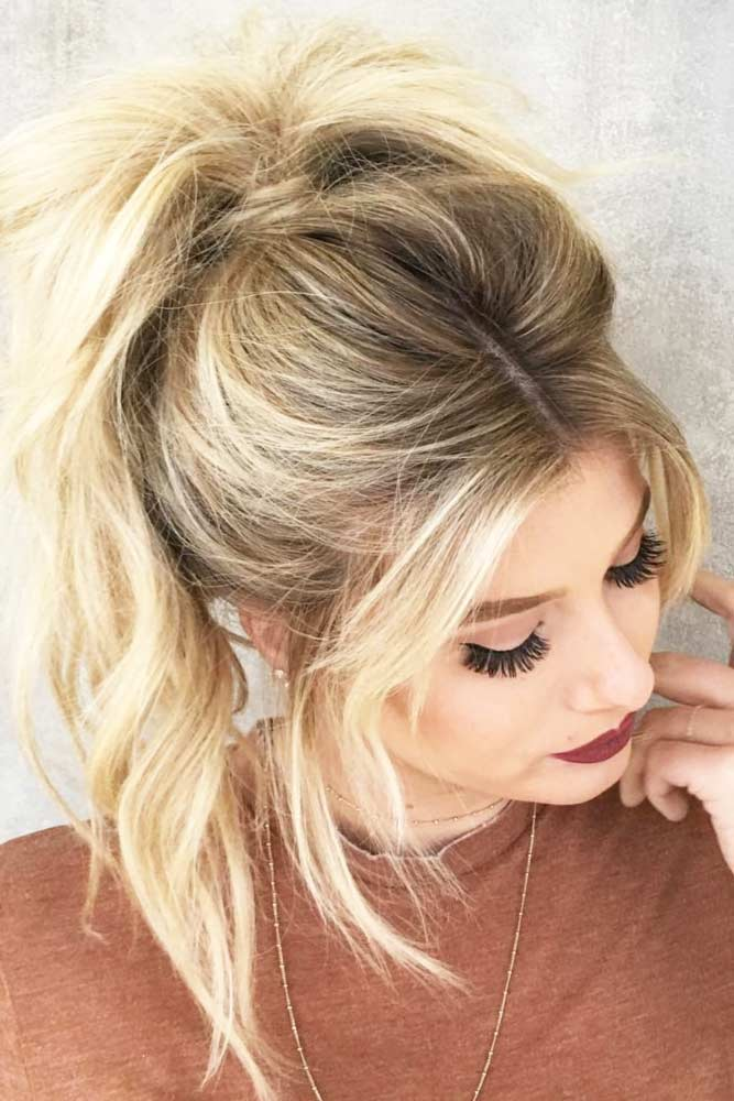Cute Hairstyles with Ponytails picture 1