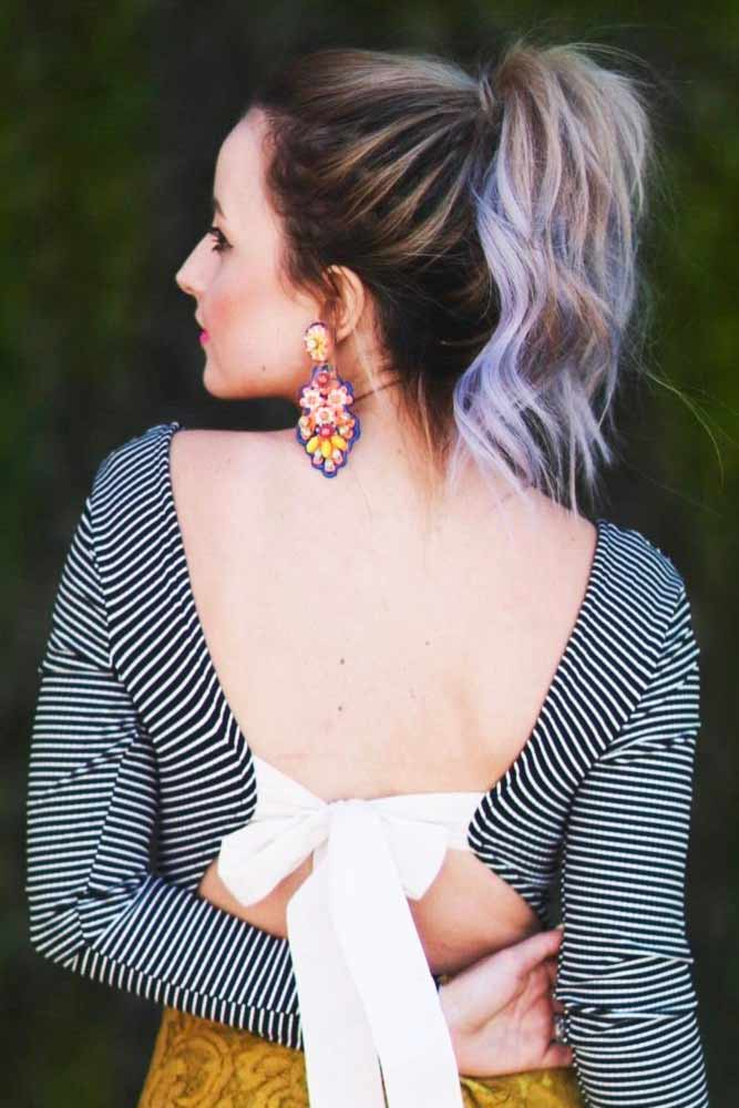 Nice Hairstyles with High Ponytail picture 3