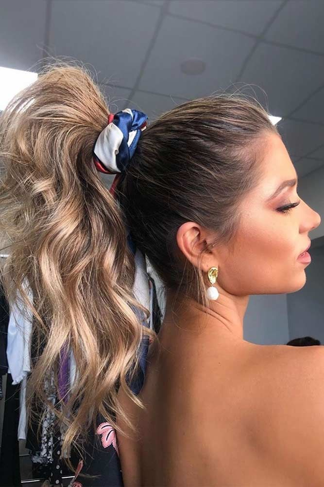 Cute Hairstyles with Ponytail  #ponytail