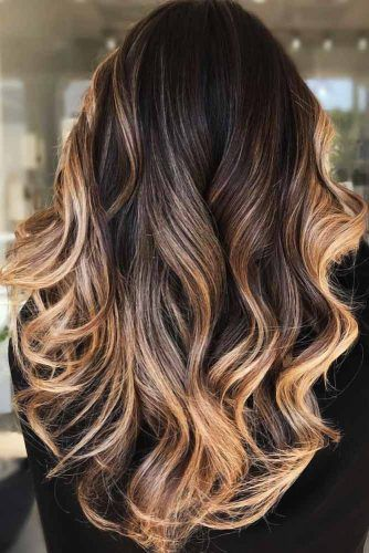 Beautiful Balayage Ends For Brunettes #highlights #brunette