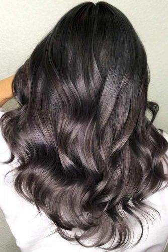 Cold Tones For Your Dark Hair #brunette #highlights