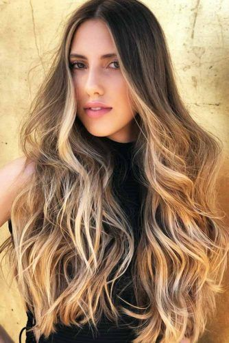 Beautiful Balayage For Brunettes Blonde #brunette #highlights