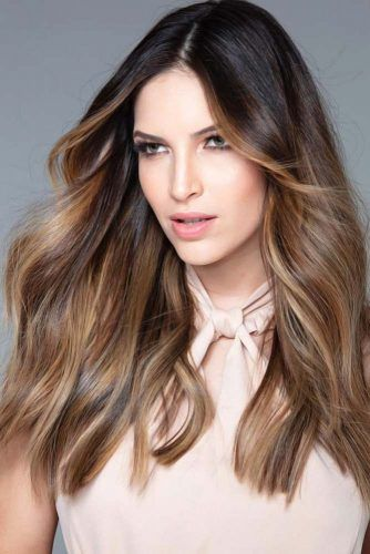 Beautiful Balayage For Brunettes Black #brunette #highlights