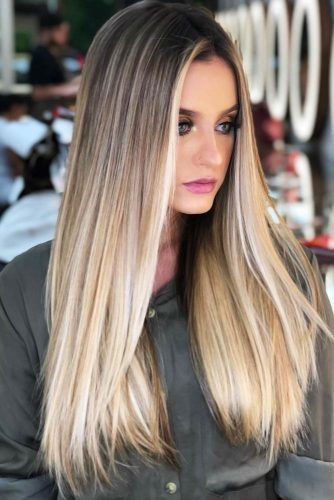 Blonde Vanilla #highlights #brunette