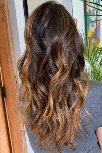Amazing Highlights #brunette #highlights