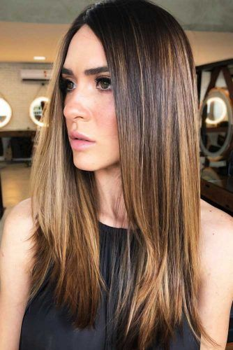 Cappuccino #highlights #brunette