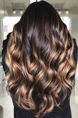 Honey Glazed Doughnut #highlights #brunette